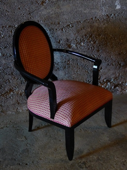 Amalfi laquered chair