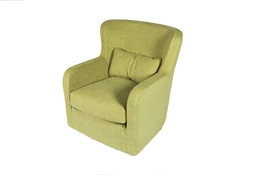 Swivel chair low back