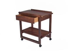 Tea trolley with drawer