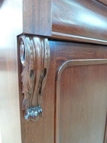 Carved Chiffonier, 4 door