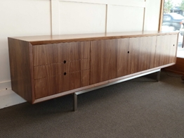 Credenza with Stainless Steel legs