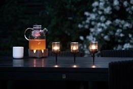 pipe outdoor candle lights