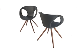 flo chair grey
