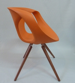 flo chair orange
