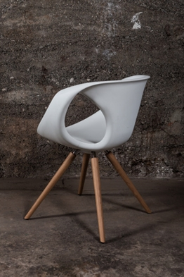Flo chair white