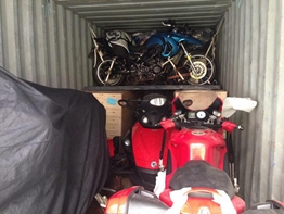 Ducati loaded ready to go